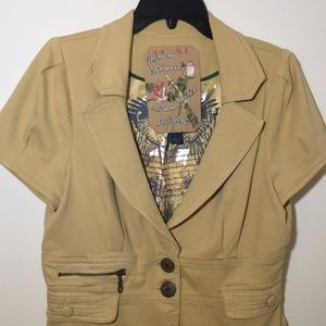 Millard Fillmore's Jackets & Coats - Millard Fillmore's Tan Field Jacket sz L
